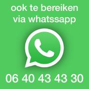 bereik ons via Whatsapp
